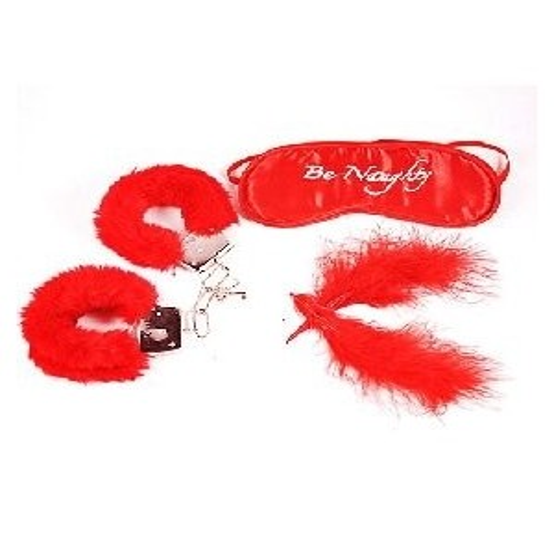 Sextoy Masque, plumes, menottes